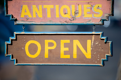 Antiques and gift shop in Old Town Albuquerque, New Mexico