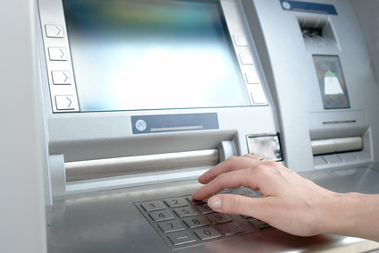 ATM PIN code entry